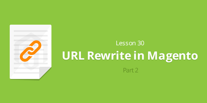 Lesson 30: URL Rewrite in Magento (part 2)