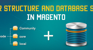 Folders Structure and database system-magento open course